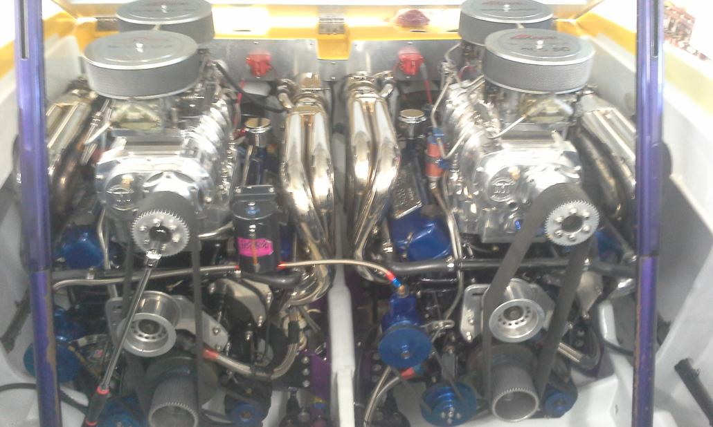 40' Outlaw Upgrades - Twin 900Sc to 1000hp Duramax Diesels