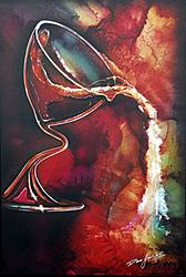 DEAN LOUCKS Work debuts @ the NY Art Expo 2010-red-white.jpg