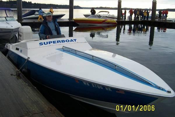 24 superboat ob for sale for Boat lift motors near me
