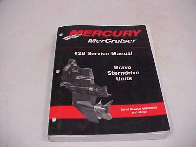 mercruiser sterndrive repair manual
