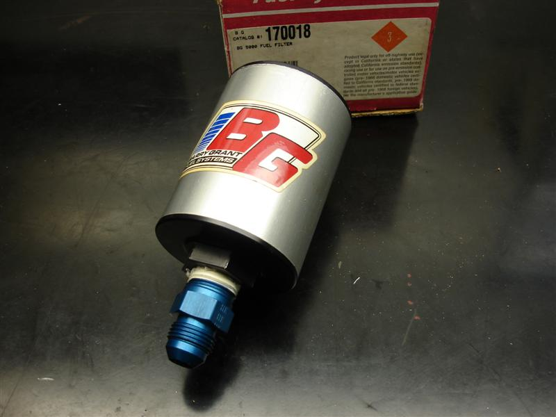 Barry Grant 280 fuel pump and Filter Offshoreonly com