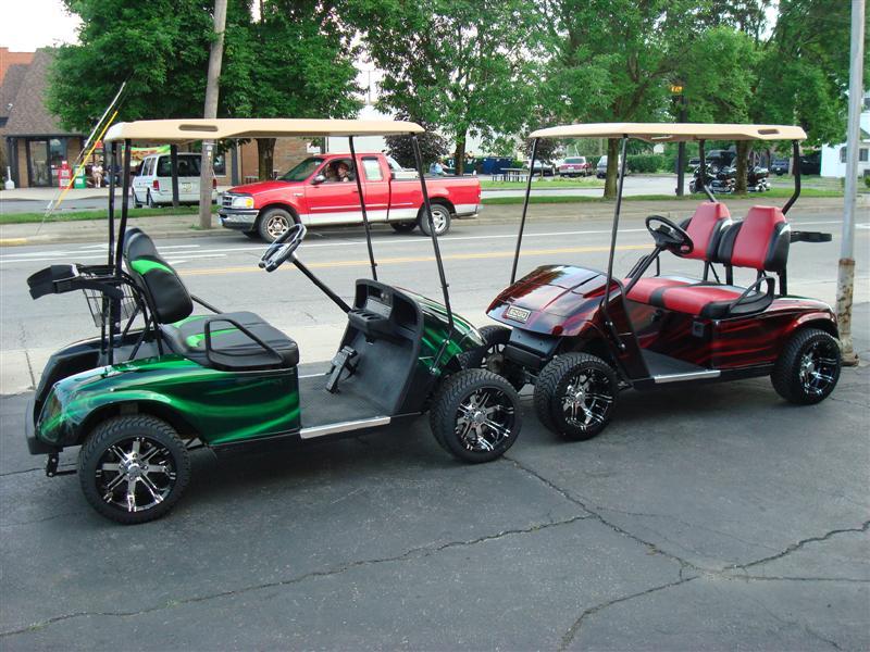 2006 Custom Ez Go Electric Golf Cart