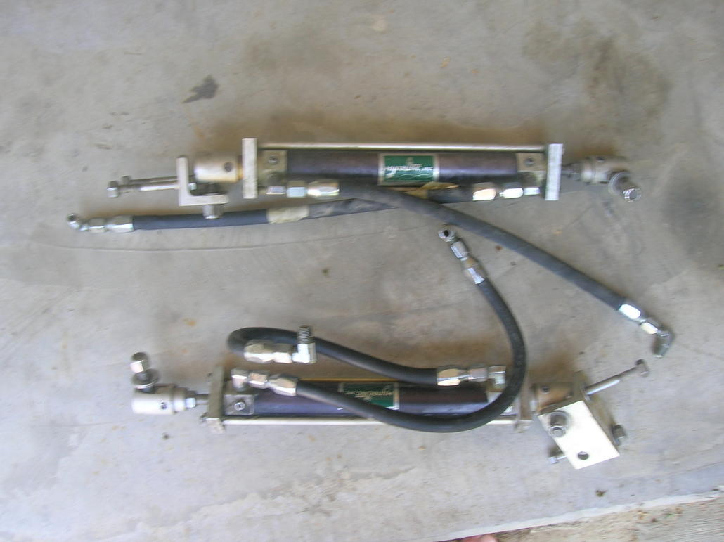 Hynautic Hydraulic Steering Cylinders And Fittings