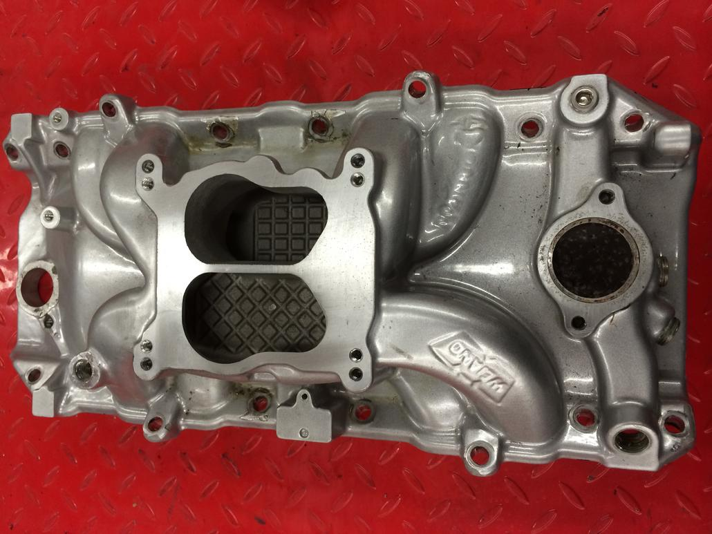 Weiand Warrior 454 Peanut Port Intake - Offshoreonly com