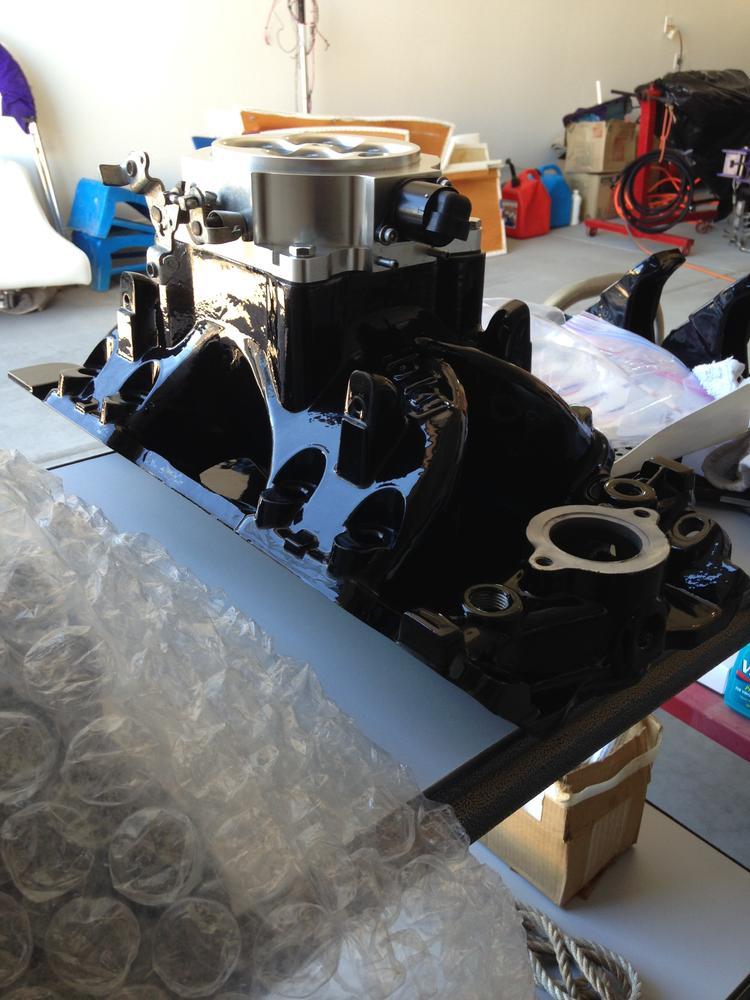Holley Efi Intake  9901 209  With 1000 Cfm Throttle Body