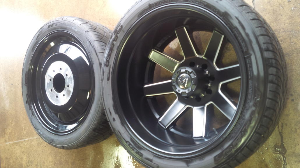 """22"""" Fuel Dually wheels $2500 shipped - Offshoreonly.com"""