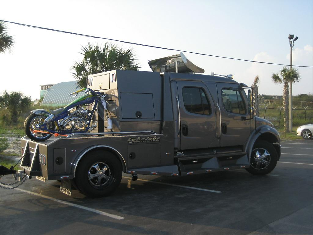Anyone running a freightliner sportchassis freightliner jpg