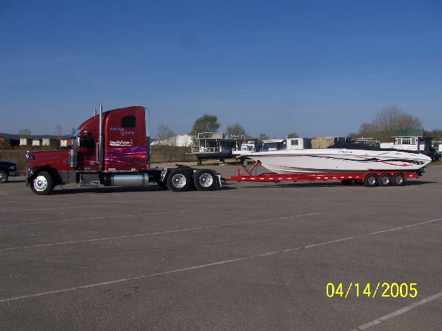Mack Semi for towing boat - Offshoreonly com