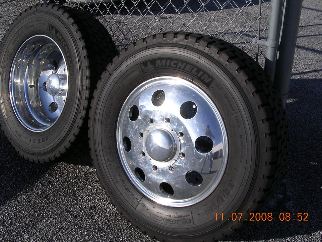 motorhome tires 22 5 with 199637 19 5 Direct Fit Alcoa Rims Tires 05 08 F350 Dually on Rv Rialta 2015 in addition 1984 Ford 22 C Class Trades Considered 4500 3845835 also Michelin Quality 22 5 Truck Tires 60313404786 moreover Tire Covers 14 Inch further 199637 19 5 Direct Fit Alcoa Rims Tires 05 08 F350 Dually.