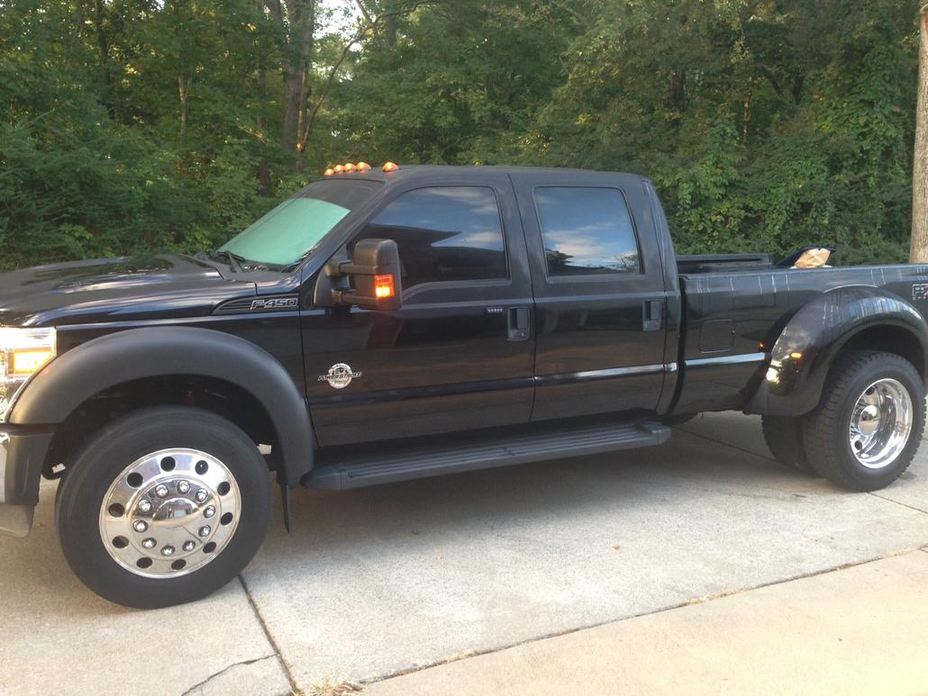 """Deal On Wheels >> New F450 with 22.5"""" wheels... Bad Ride! - Offshoreonly.com"""
