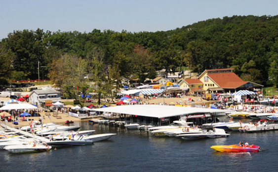 Captain Ron's has hosted the Lake of the Ozarks Shootout since 2008.