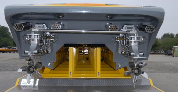 'built-in' muffler exhaust tips