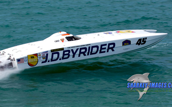 Marcantonio, the owner and driver of the J.D. Byrider catamaran, was among Superboat-class competitors who spearheaded the engine spec change.