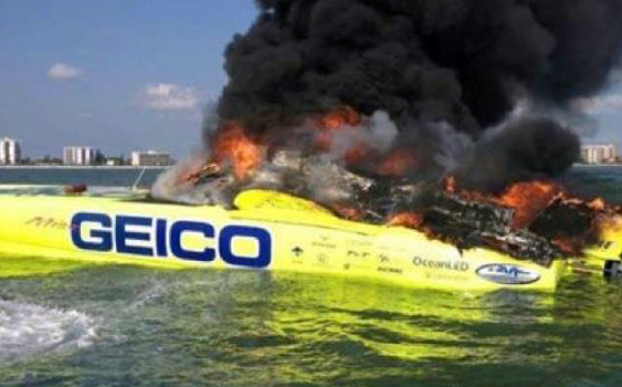 With the destruction of Miss GEICO, the offshore racing world lost its best-known boat.