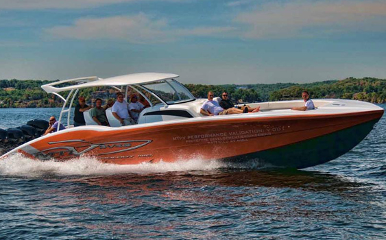 It's not often a company offers its prototype for public consumption as MTI did with its new SV42 center console at Lake of the Ozarks and in Key West.