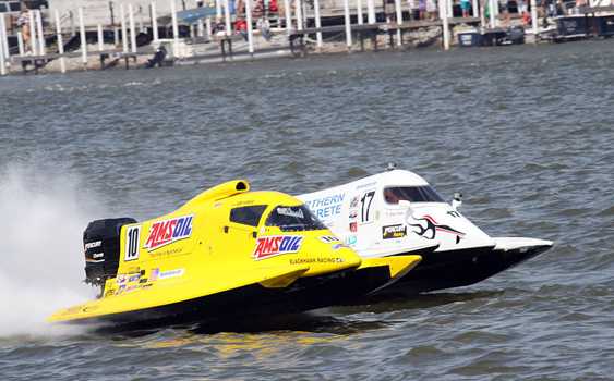 Tunnel Boat Racing