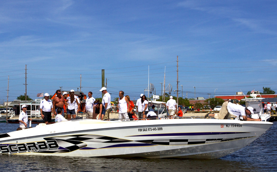 With less than 20 volunteer boats, Shore Dreams was able to provide rides for approximately 700 people.