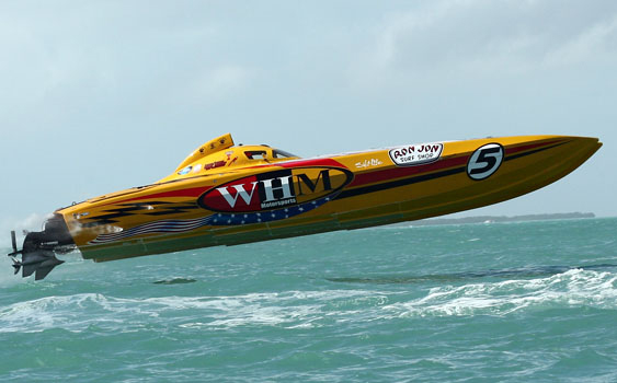 Three second place finishes were enough for WHM Motorsports take the SBI Superboat World Championship.