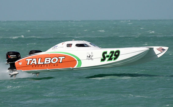 Strong and consistent, Talbot Excavating took first in Superboat Stock class.