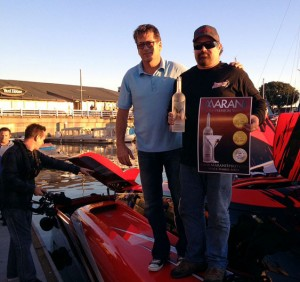 From the docks in front of the Yard House in Long Beach, Russell and Rogers vowed to attempt the record again.