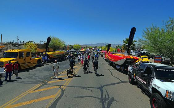 The street party at the Desert Storm Poker Run is the main reason I'll be in Lake Havasu City, Ariz., again come April. Photo by Jay Nichols
