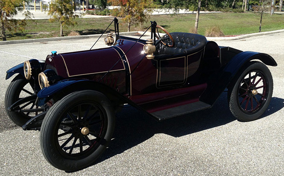 The first Chevy automobile from 1914 recently received an interior facelift from Cutting Edge Interiors.