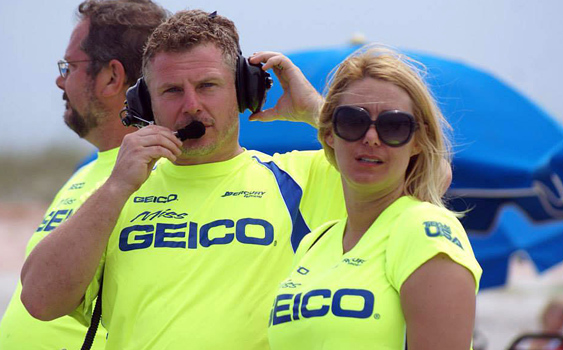 The professionalism of the Miss GEICO team is plain as day thanks to the leadership of Gary Stray and his wife, Louise. Photo by Mary Tobiassen