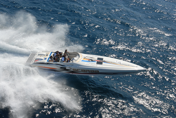 S.C.O.P.E. members will take the to the waters off San Diego for their annual poker run this year. Photo by Bob Brown.