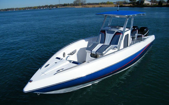 The 29 CCX is the smallest model in what will be by spring next year a three-boat line.