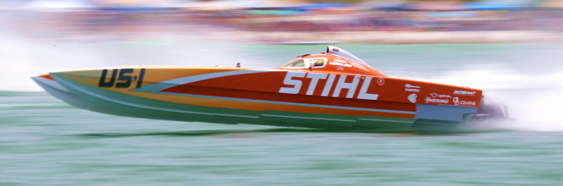 Stihl comes into Key West as the Superboat-class team to beat. (Photo by Pete Boden/Shoot 2 Thrill Pix.)