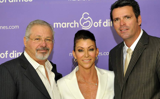 Keith Sweers, Kim Sweers and Randy Sweers at a charitable event in early 2014.
