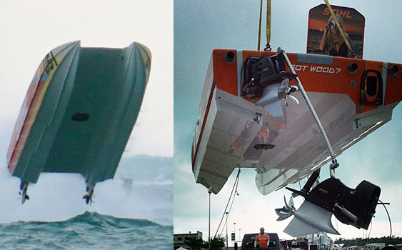 Key West delivered the rough stuff. Photos by Chris LaMorte (left) and Adrian Barrett (right).