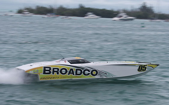 Broadco brought a Superboat-class world title to MTI.