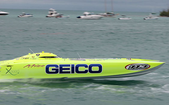 Miss GEICO earned back-to-back Unlimited-class world titles.