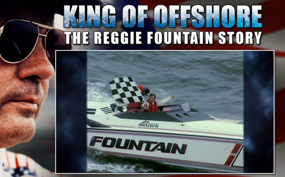 Caption: The documentary on legendary racer and boat builder Reggie Fountain was well done.