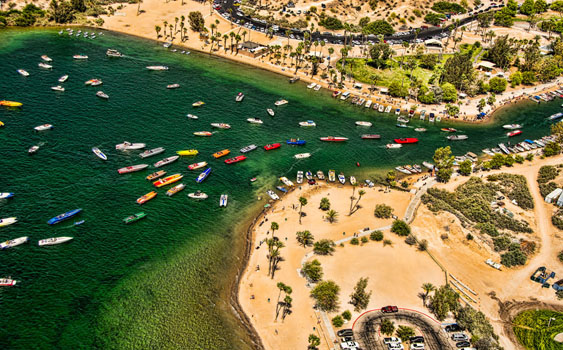 Boaters from across the country are expected to take part in the Desert Storm Poker Run in Lake Havasu City, Ariz., in April. Photo by Jay Nichols/Naples Image (https://naplesimage.wordpress.com)