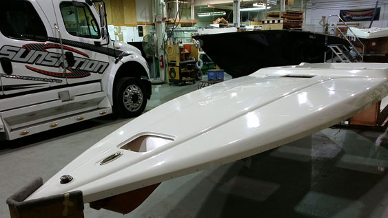 Harrison is expecting his 36-foot Sunsation sportboat to be delivered a few weeks after the 29-footer.