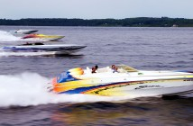 With support from Pier 57 Marine and other sponsors, the Boyne Thunder Poker Run is booming. Photo by Pete Boden/Shoot 2 Thrill Pix. (https://www.facebook.com/pages/Shoot-2-Thrill-Pix/130528070292399?fref=ts)