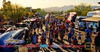 Thanks to the beautiful desert landscape, the Street Party during the annual Desert Storm Poker Run is unlike anything else in the country.