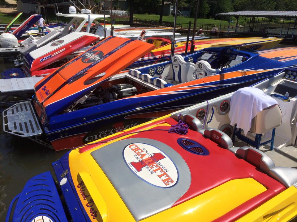 Cigarette Racing Team's first Owners' Rendezvous on the Lake of the Ozarks was an unqualified success.