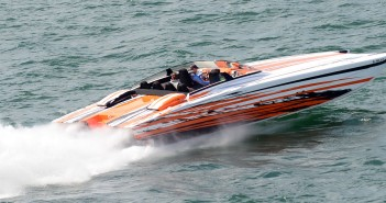 The Cigarette Racing Team Owners' Rendezvous on Missouri's Lake of the Ozarks was one of several powerboat-related events across the country last weekend. Photo courtesy Performance Boat Center