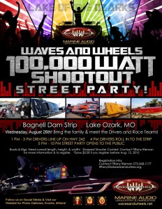 Waves and Wheels is proud to be presenting this year's Shootout Street Party.