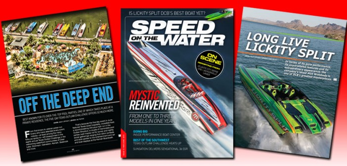 Latest Issue Of Speed On The Water Digital Magazine Goes Live!