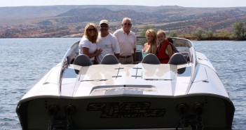 Farnsworth loves to share the experience of running in Silver Lining, his DCB M41 Widebody with 2,700 horsepower, with others.