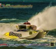 Repaired to exacting standards, Broadco will compete in the Key West Worlds, as will the Stihl team, most likely in its existing boat. But Stihl's new Skater cat, as well as the Performance Boat Center cat, also could be ready in time for Key West. Photo by Jay Nichols/Naples Image (https://www.flickr.com/photos/jay2boat/sets/)