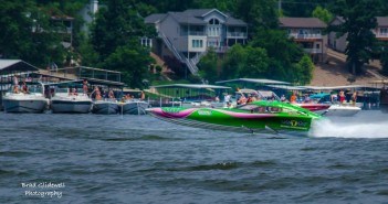 The Early Detection Racing V24 from Reindl Powerboats will be participating in the 2015 Lake of the Ozarks Shootout. Photo courtesy Brad Glidewell