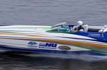 Southern California performance boater Summer Richardson laid down an impressive 147-mph pass at on Saturday at the Lake of the Ozarks Shootout in Missouri. Photo by Pete Boden/Shoot 2 Thrill Pix
