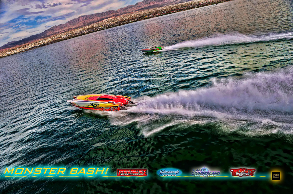 Out West, Monster Bash will cap the 2015 go-fast boating season. (Photo by Jay Nichols/Naples Image.)