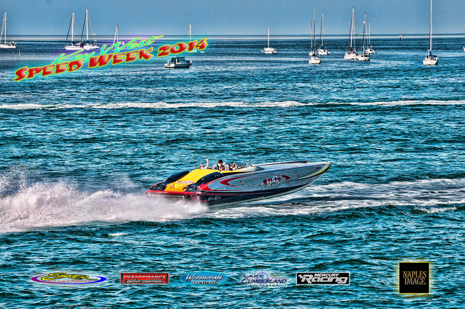 Nor-Tech has been the Key West Poker Run's longest-running sponsor. (Photo by Jay Nichols.)