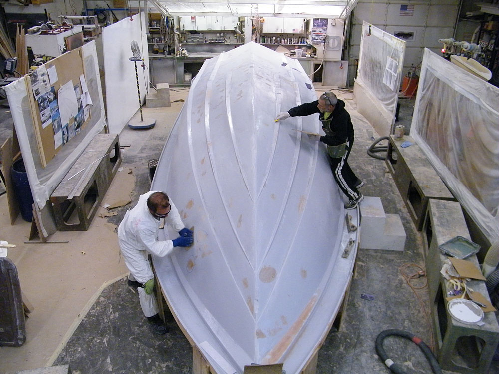 Sunsation's 32 CCX began to take shape in the fall of 2014.